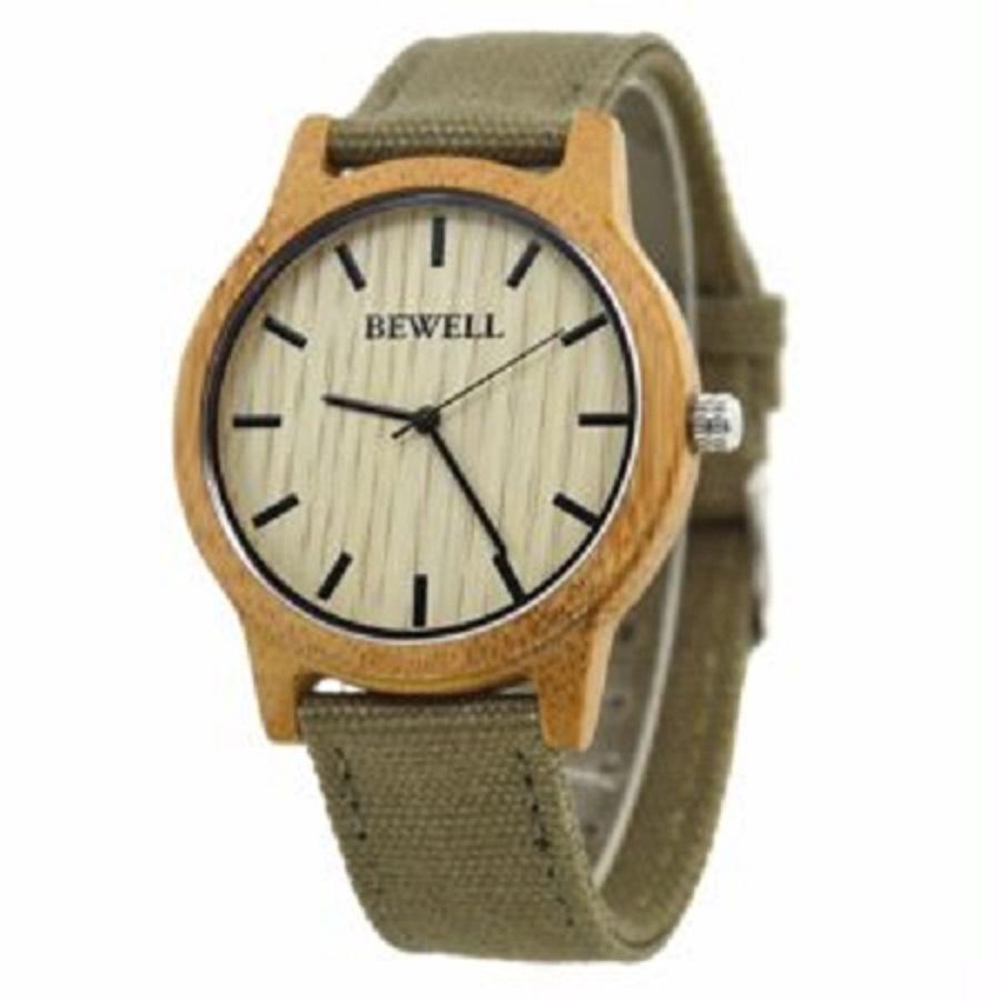 Feest met een houten horloge voor dames